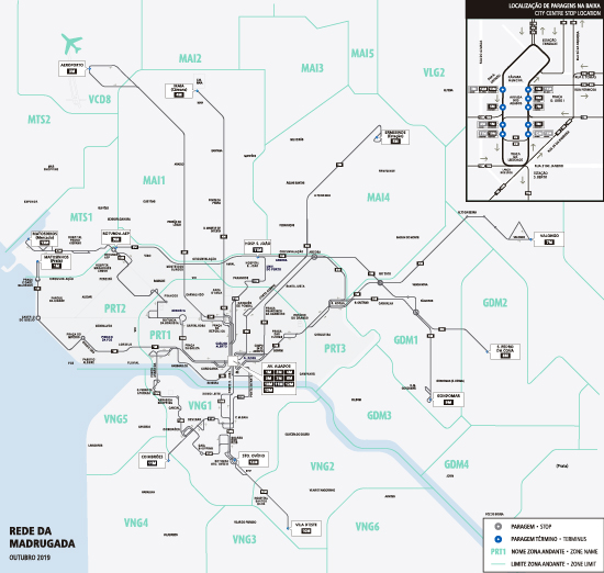 Mapa Da Rede Stcp