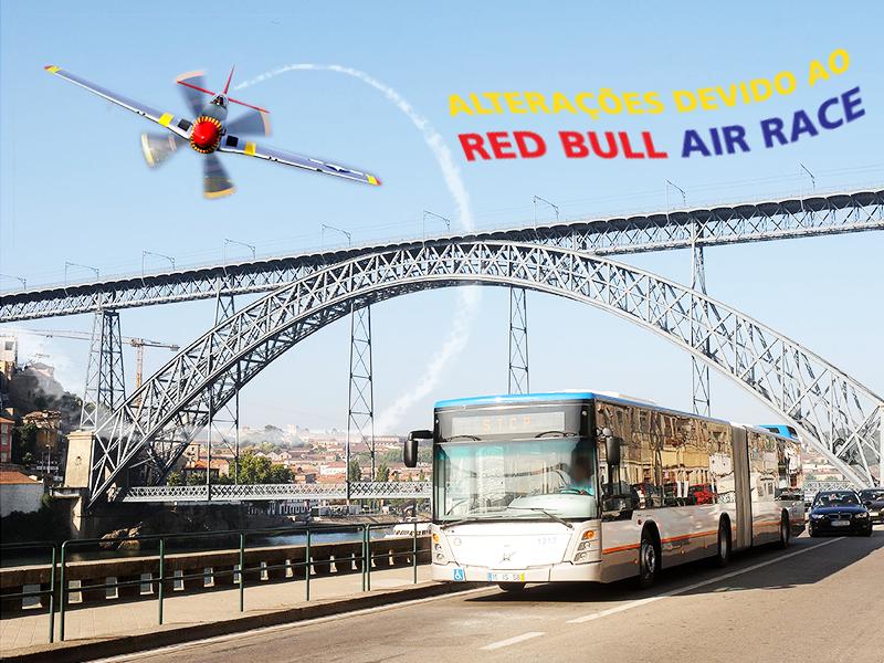 ALTERAÇÕES DE SERVIÇO: DIAS 1, 2 E 3 DE SETEMBRO - RED BULL AIR RACE