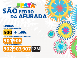 Don't stay home. There's more party in São Pedro da Afurada