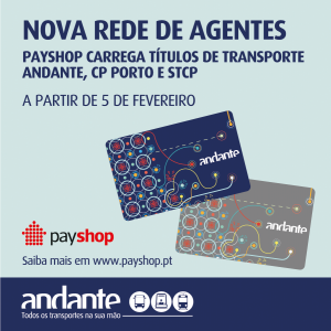 Payshop network sell public transport tickets