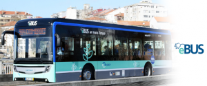 e.BUS, 100% electric bus in testing at STCP.